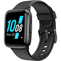 YAMAY Smart Watch 2020 Ver. Watches for Men Women Fitness Tracker Blood Pressure Monitor…