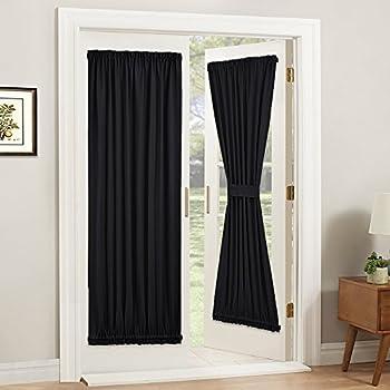 Amazon Com Nicetown Privacy Door Curtain Panel