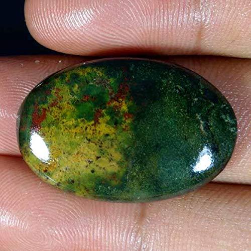 38.25Cts.100% Natural Gorgeous Designer Blood Stone Oval CAB Loose Gemstone