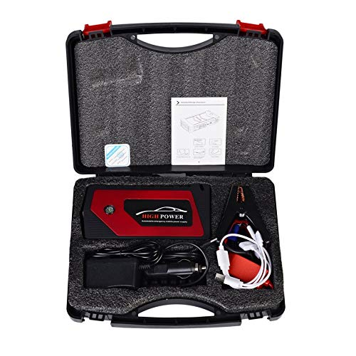 KNOSSOS 12V 89800mah Car Charger Jump Starter Emergency Mobile Power Bank Tool Kit