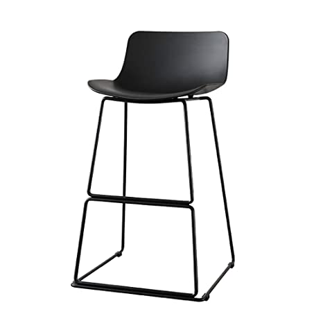 Prime Amazon Com High Stool Iron Bar Stool Chair Black Dining Unemploymentrelief Wooden Chair Designs For Living Room Unemploymentrelieforg