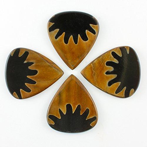 Timber Tones TRBTAN4 Tribal Tones Anemone Horn Pack of Four Guitar Picks
