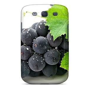 Excellent Design Grapes Macro Phone Case For Galaxy S3 Premium Tpu Case