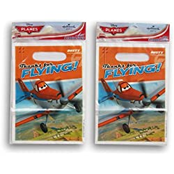 Party Supply - Planes - 16 Party Favor Loot Bags
