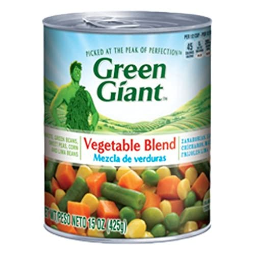 Amazon.com : Green Giant Mixed Vegetable Blend, 15 Ounce (Pack of 12) : Grocery & Gourmet Food