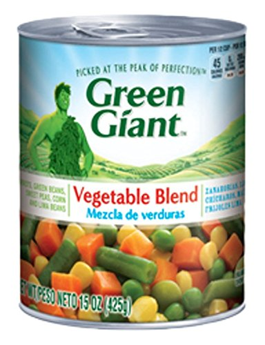 Green Giant Mixed Vegetable Blend, 15 Ounce (Pack of 12) (The Best Frozen Vegetables)