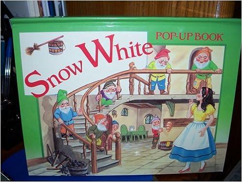Snow White Pop Up Book Grandreams Limited Amazoncom Books