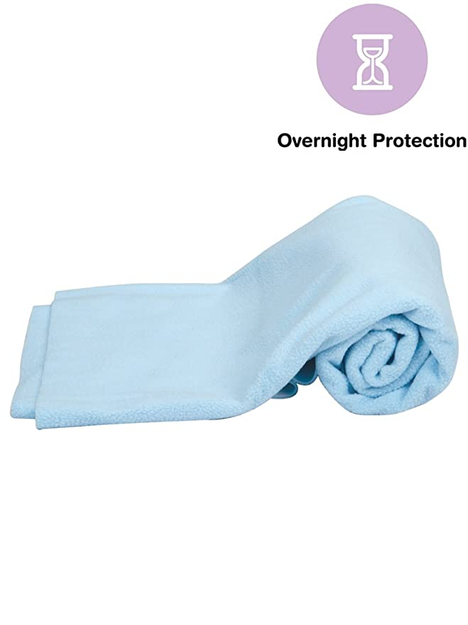 Mee Mee Breathable & Total Dry Sheet Protector Mat (Blue) Diaper Covers at amazon