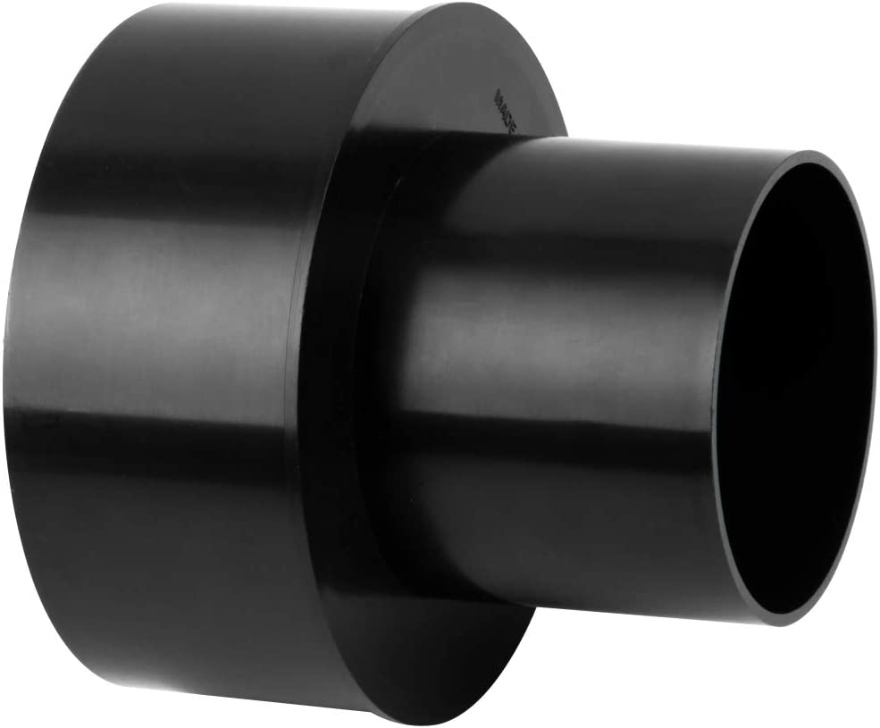 POWERTEC 70277 Dust Collection Reducer, 6-Inch OD to 4-inch OD