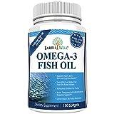 Earthwell Omega 3 Fish Oil Supplement Lemon Flavored – 180 Capsules For Sale