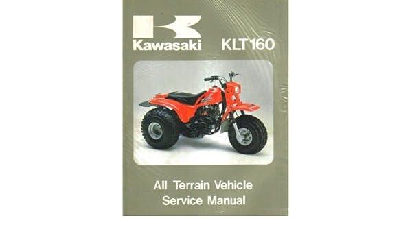 U99924-1052-01 Used 1985 Kawasaki KLT160 Service Manual ... on