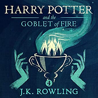 Image result for goblet of fire audiobook
