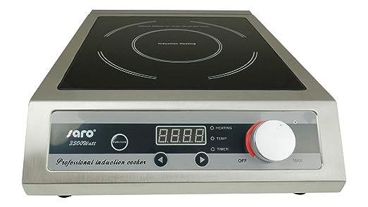 Saro 360-1030 Finja - Hornillo de inducción (acero inoxidable)