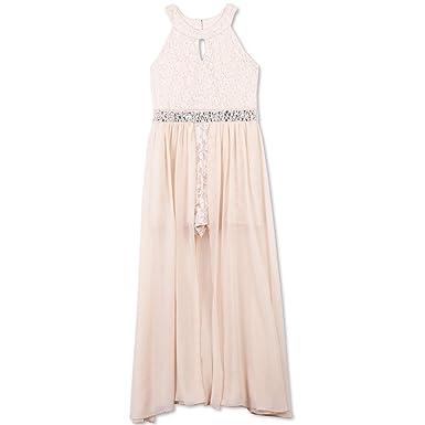 2f9246e02 Amazon.com  Speechless Girls  High Neck Maxi Romper Dress  Clothing
