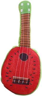 Ecotrumpuk Cuscino Farcito per Chitarra Musicale di Simulazione Creativa (Anguria Rossa)