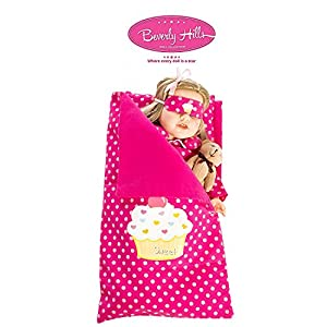 Beverly Hills Reversible Doll sleeping bag Fits American girl 18'' Doll