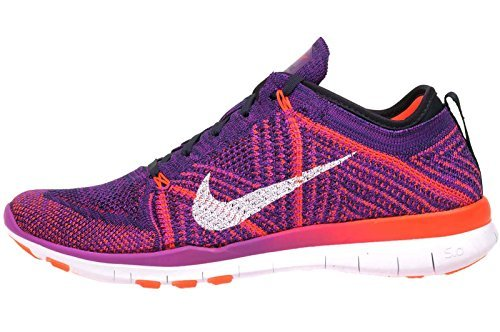694eb7dbcbd83 Galleon - Nike Free TR Flyknit Hyper Violet Womens Running Training Shoes  Size 9