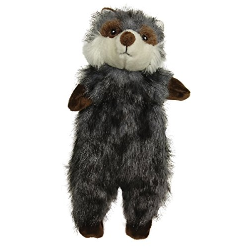 Fur Ethical Products - Ethical Pets 54334 Furzz Raccoon Pet Squeak Toys