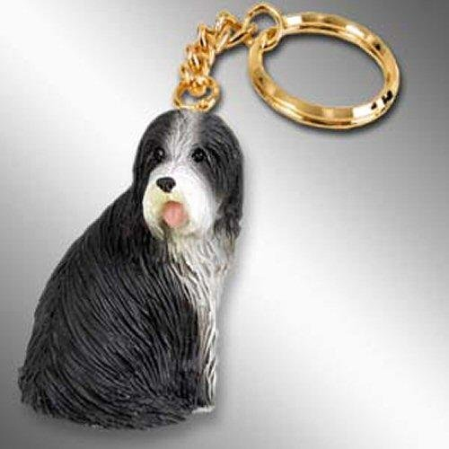 (Bearded Collie Tiny Ones Dog Keychains (2 1/2 in) )