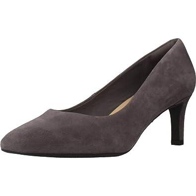 Clarks Chaussures à Talon, Couleur Gris, Marque, ModãšLe