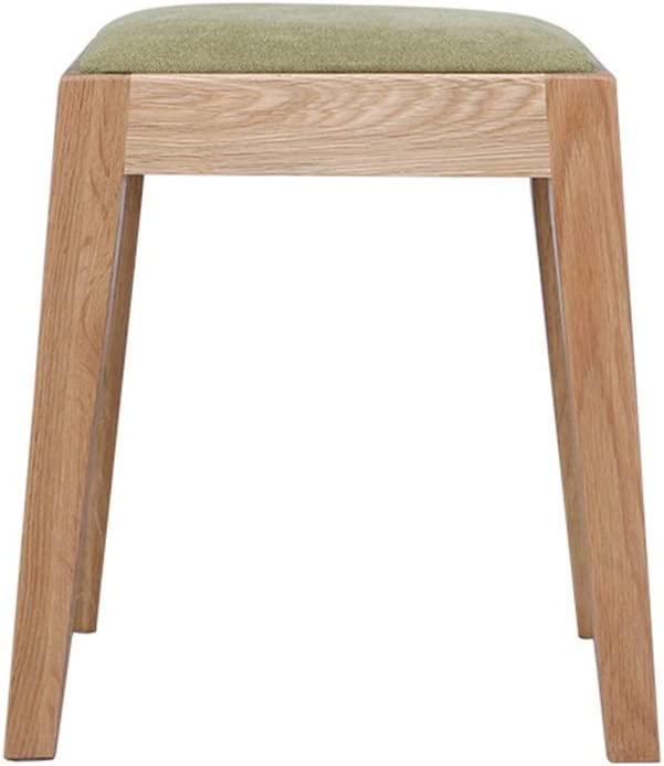 YADSHENG Vanity Stool Vanity Stool,Modern Makeup Dressing Stool with Padded Seat,Padded Bench with Wood Legs Vanity Benches (Color, Size : 33x29x42cm)