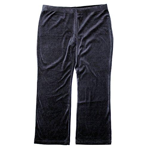 Buy alfani plus womens velvet pull on wide leg pants