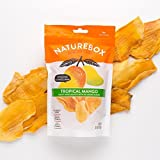 NatureBox Unsweetened & Unsulfured Non-GMO Dried Mangoes (5 bags X 3.6 oz)