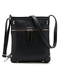 Greeniris Small PU Leather Cross Body Bag Shoulder Bag