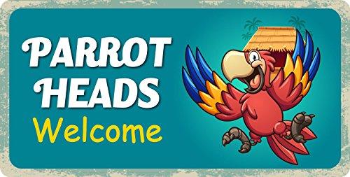 StickerPirate 584HS Parrot Heads Welcome 5