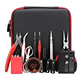 Vivona Hardware & Accessories Portable DIY Coil Jig V2 Cigarette Tool Kit Ceramic Tweezer Winding Bar Ohm Tester