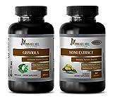 antiaging health - GRAVIOLA - NONI - graviola natural - (2 Bottles Combo)