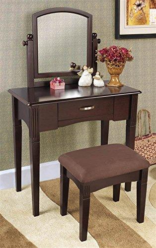 3-Pc Vanity Set with Single (Single Dresser Set)