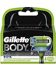 Gillette Body 5 Rasierklingen für Männer, 4Stück