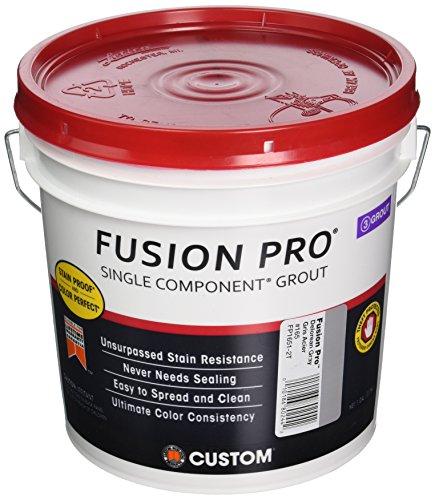 Custom 221333 FP1651-2T 1G Delorean Gray Fusion Pro Single Component Grout
