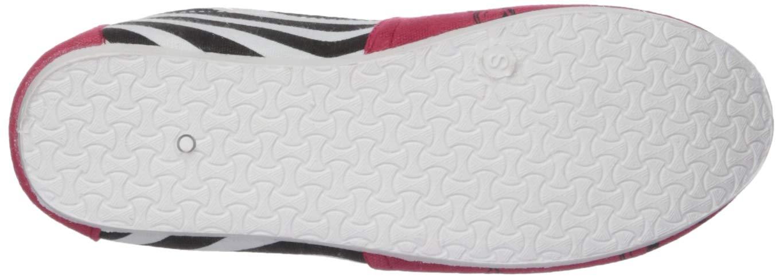 L FOCO Arkansas Razorbacks NCAA Womens Stripe Canvas Shoes