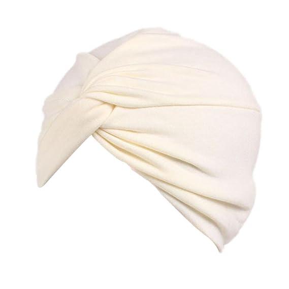 Fossrn Tapa para Quimio Mujer Sombrero Cáncer Chemo Oncológico Bufanda  Beanie Turbante Gorro para Pèrdida de Pelo Cabello (Beige)  Amazon.es  Ropa  y ... 00b8e74bfefe