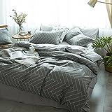 Lison 4 Pcs 100% Cotton Duvet Bedding Sheet Cover Set Printed Kids Adult (78'' x 90'', cactus)