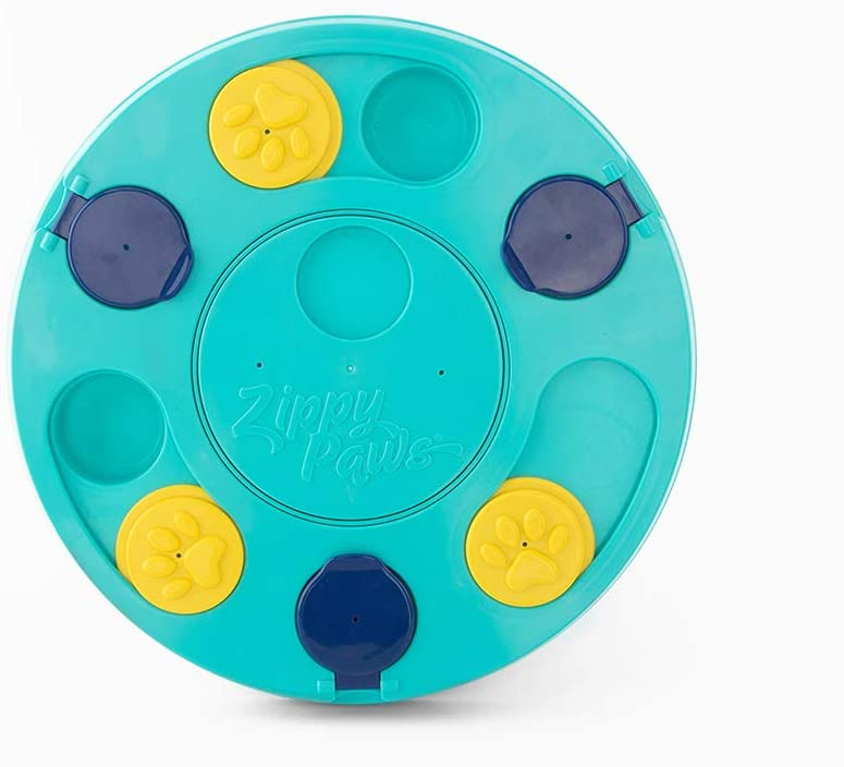 ZippyPaws - SmartyPaws - Puzzler Dog Toy - 3 in 1 Interactive Dog Toy Puzzle, Teaches Problem Solving Skills