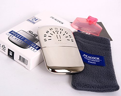 Peacock Hakkin Warmer Standard/Pocket Hand Warmer 24 Hours Made in ()