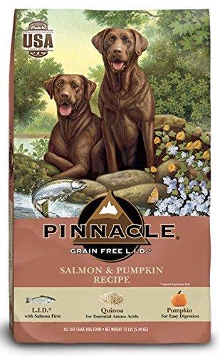 Pinnacle Grain Free Salmon & Pumpkin Recipe Dry Dog Food (4lbs) Review
