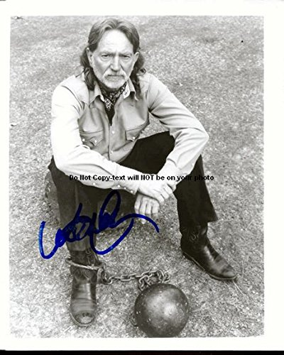 Willie Nelson Autographed Preprint Signed 11x14 Poster Photo