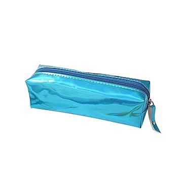 Amazon.com: frcolor láser lápiz caso bolsa de cosméticos ...