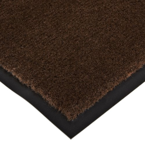 Notrax 130 Sabre Decalon Entrance Mat, for Entranceways and Light to Medium Traffic Areas, 2' Width x 3' Length x 5/16'' Thickness, Brown by NoTrax Floor Matting
