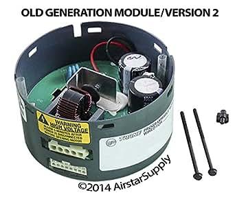 Oem upgraded trane american standard 1 2 ecm blower motor for Trane blower motor module