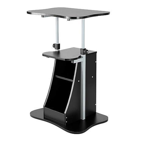best service c3243 b8bb3 Amazon.com: Tingting Side Table Desk End Bedside Snack ...
