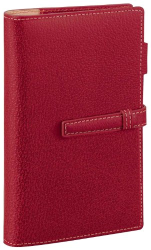 Raymay Da Vinci System Notebook Pigskin Bible Red Db1050r by RayMay