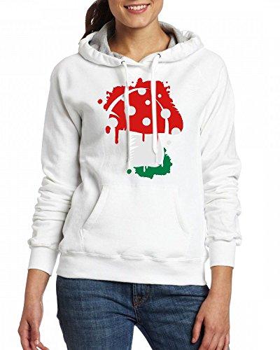 A Fly agaric graffiti Womens Hoodie Fleece Custom Sweartshirts
