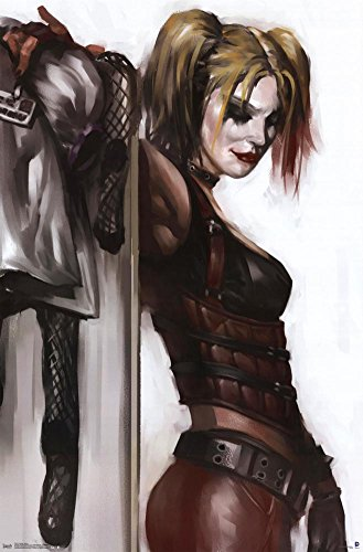 Injustice Gods Among Us Batman Costumes (Harley Quinn Poster 22 x 34in)