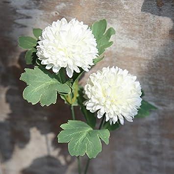 HUAYIFANGKünstliche Blumen Hortensie Löwenzahn Blumen Blume Blume Blume Dekoration  Dekoration Wohnungseinrichtung Landung Dekorieren, Hellgrün