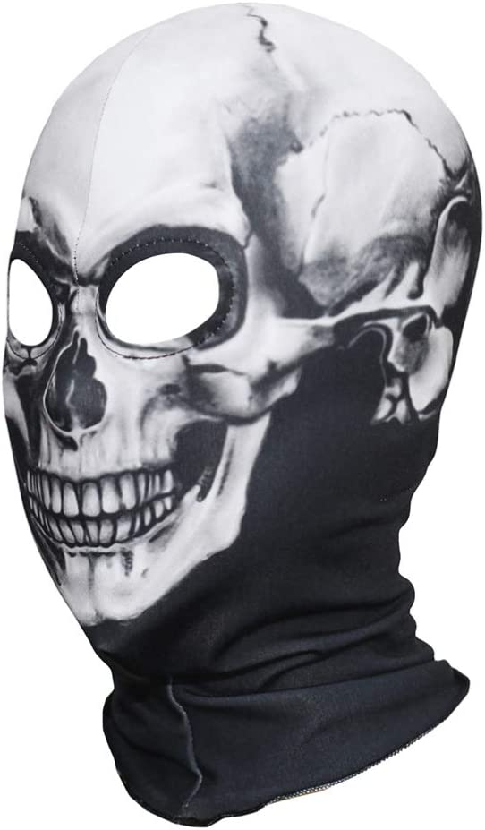 Amosfun Maschera Teschio Teschio Maschera Scheletro Maschera Halloween Maschera Teschio Maschera Scheletro Maschera Teschio Halloween Maschera Decorazione Maschera per Equitazione